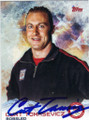 CURT TOMASEVICZ AUTOGRAPHED OLYMPIC BOBSLED CARD #11414A