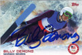 BILLY DEMONG AUTOGRAPHED NORDIC SKIING OLYMPICS CARD #11414C
