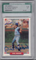 PHIL NIEKRO TORONTO BLUE JAYS GRADED, AUTOGRAPHED BASEBALL CARD #11714F