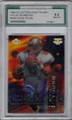 STEVE YOUNG SAN FRANCISCO 49ers GRADED, AUTOGRAPHED FOOTBALL CARD #11714J