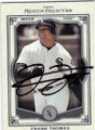 FRANK THOMAS CHICAGO WHITE SOX AUTOGRAPHED BASEBALL CARD #11814G