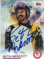 SETH WESCOTT OLYMPIC SNOWBOARDING AUTOGRAPHED CARD #11814M