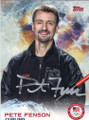 PETE FENSON OLYMPIC CURLING AUTOGRAPHED CARD #12014D