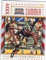 JACKIE JOYNER-KERSEE OLYMPIC TRACK & FIELD AUTOGRAPHED CARD #12014L