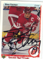 STEVE YZERMAN DETROIT RED WINGS AUTOGRAPHED HOCKEY CARD #12114H