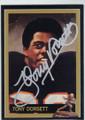 TONY DORSETT AUTOGRAPHED HEISMAN FOOTBALL CARD #12114N