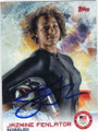 JAZMINE FENLATOR AUTOGRAPHED OLYMPIC BOBSLED CARD #12214D