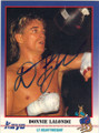 DONNIE LALONDE AUTOGRAPHED BOXING CARD #12214F