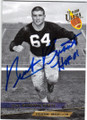 NICK BUONICONTI NOTRE DAME FIGHTING IRISH AUTOGRAPHED FOOTBALL CARD #12314J
