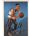 BILL BRADLEY NEW YORK KNICKS AUTOGRAPHED VINTAGE BASKETBALL CARD #12314P