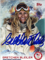 GRETCHEN BLEILER OLYMPIC SNOWBOARDING AUTOGRAPHED CARD #12414E