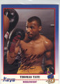 THOMAS TATE AUTOGRAPHED BOXING CARD #12414G