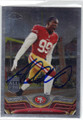 ALDON SMITH SAN FRANCISCO 49ers AUTOGRAPHED FOOTBALL CARD #12414H