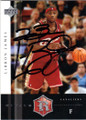 LeBRON JAMES CLEVELAND CAVALIERS AUTOGRAPHED ROOKIE BASKETBALL CARD #12514N