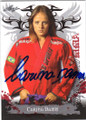 CARINA DAMM MIXED MARTIAL ARTIST AUTOGRAPHED CARD #12514O