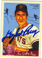 GAYLORD PERRY SAN FRANCISCO GIANTS AUTOGRAPHED BASEBALL CARD #12614i
