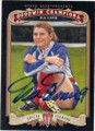 MIA HAMM AUTOGRAPHED SOCCER CARD #12714M