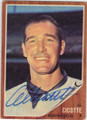 AL CICOTTE HOUSTON COLTS AUTOGRAPHED VINTAGE BASEBALL CARD #12814i