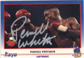 PERNELL WHITAKER AUTOGRAPHED BOXING CARD #12814J