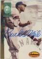 BUCK O'NEIL KANSAS CITY MONARCHS AUTOGRAPHED BASEBALL CARD #12914C
