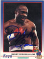 DWIGHT MUHAMMAD QAWI AUTOGRAPHED BOXING CARD #12914E