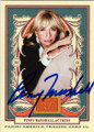 PENNY MARSHALL AUTOGRAPHED CARD #12914F