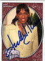 JACKIE JOYNER-KERSEE AUTOGRAPHED OLYMPIC TRACK & FIELD CARD #13014O