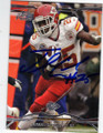 JAMAAL CHARLES KANSAS CITY CHIEFS AUTOGRAPHED FOOTBALL CARD #13014Q