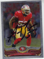 NaVORRO BOWMAN SAN FRANCISCO 49ers AUTOGRAPHED FOOTBALL CARD #20214A
