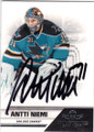ANTTI NIEMI SAN JOSE SHARKS AUTOGRAPHED HOCKEY CARD #20214D