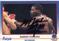 MARLON STARLING AUTOGRAPHED BOXING CARD #20214G