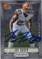 JOE HADEN CLEVELAND BROWNS AUTOGRAPHED FOOTBALL CARD #20214H