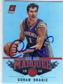 GORAN DRAGIC PHOENIX SUNS AUTOGRAPHED BASKETBALL CARD #20214J