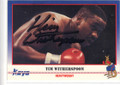 TIM WITHERSPOON AUTOGRAPHED BOXING CARD #20314E