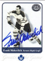 FRANK MAHOVLICH TORONTO MAPLE LEAFS AUTOGRAPHED HOCKEY CARD #20414D