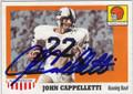 JOHN CAPPELLETTI PENN STATE AUTOGRAPHED FOOTBALL CARD #20414J