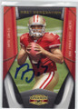 NATE DAVIS SAN FRANCISCO 49ers AUTOGRAPHED & NUMBERED ROOKIE FOOTBALL CARD #20714C