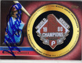 MIKE SCHMIDT PHILADELPHIA PHILLIES AUTOGRAPHED & NUMBERED GOLD PIN BASEBALL CARD #20714F