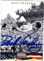 DICK FOSBURY AUTOGRAPHED OLYMPIC TRACK & FIELD CARD #20814C