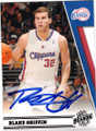 BLAKE GRIFFIN LOS ANGELES CLIPPERS AUTOGRAPHED BASKETBALL CARD #21014H