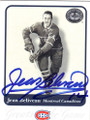 JEAN BELIVEAU MONTREAL CANADIENS AUTOGRAPHED HOCKEY CARD #21414C