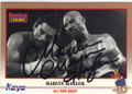MARVIN HAGLER AUTOGRAPHED BOXING CARD #21714A
