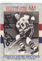 HERB BROOKS AUTOGRAPHED OLYMPIC HOCKEY CARD #21914A