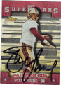 STEVE YOUNG SAN FRANCISCO 49ers AUTOGRAPHED FOOTBALL CARD #22014F