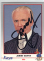 JIMMY BINNS AUTOGRAPHED BOXING CARD #22014M
