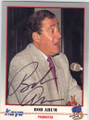 BOB ARUM AUTOGRAPHED BOXING CARD #22114M