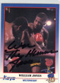 WILLIAM JONES AUTOGRAPHED BOXING CARD #22214H