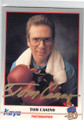 TOM CASINO AUTOGRAPHED BOXING CARD #22214N
