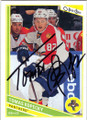 TOMAS KOPECKY FLORIDA PANTHERS AUTOGRAPHED HOCKEY CARD #22314Q