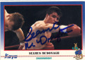 SEAMUS McDONAGH AUTOGRAPHED BOXING CARD #30114H